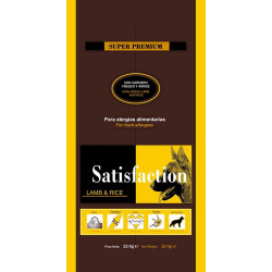 Satisfaction Dog Lamb & Rice 15 kg