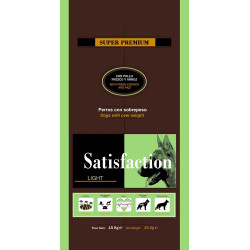 Satisfaction Dog Light 15 kg