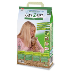 Lecho para Gatos CAT'S BEST Öko 10 L