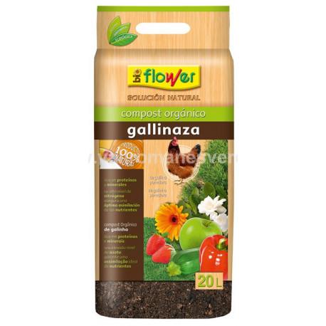 Compost Orgánico Gallinaza 20 L
