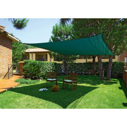 Toldo Vela Triangular SUNNET KIT 3 m Verde