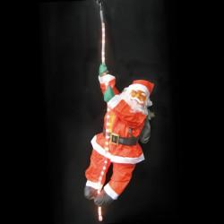 Muñeco Noel Trepador Luminoso Exterior