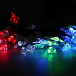 Guirnaldas Solares Mariposas 20 LED