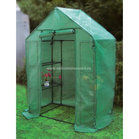 Invernadero Tomatera PE con Estantes 195x143x73 cm