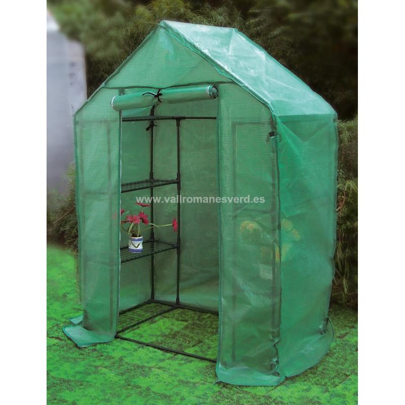 Invernadero tomatera pe 143x73x195 cm vallromanes verd s l for Pqs piscinas y consumo