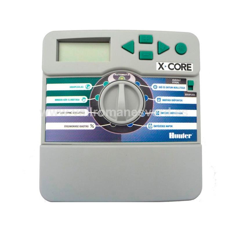 Programador hunter x core interior vallromanes verd s l for Pqs piscinas y consumo