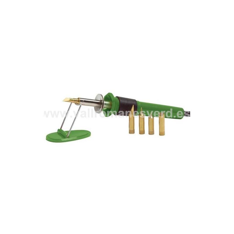 Pirograbador puntas base kit 30 w salki vallromanes verd for Pqs piscinas y consumo
