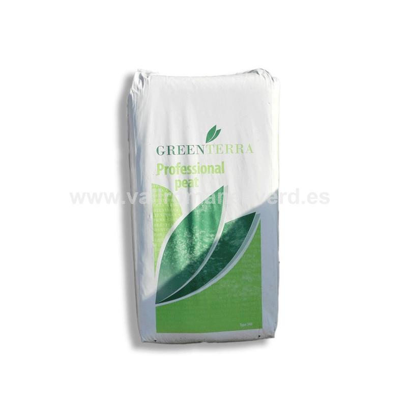 Turba rubia natural 0 20 mm 250 l vallromanes verd s l for Pqs piscinas y consumo