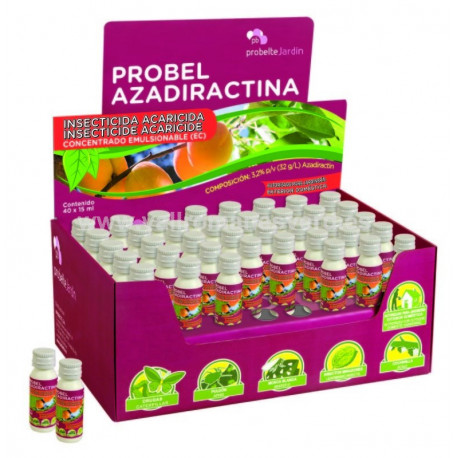 Insecticida-Acaricida Azadiractina 15 ml