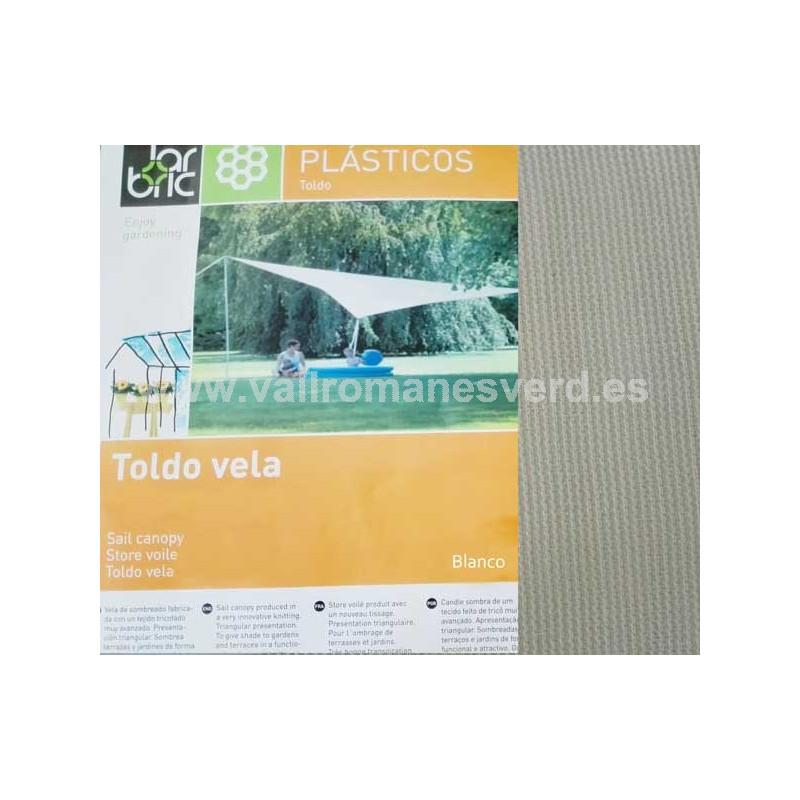Toldo vela triangular garbric vallromanes verd s l for Pqs piscinas y consumo