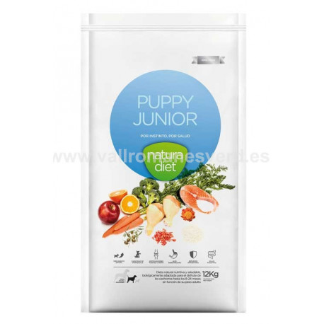 NATURA DIET Puppy Junior 12 kg