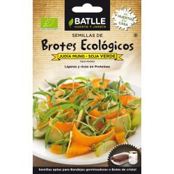 Semilla Judía Mung-Soja Verde Brotes Ecologicos