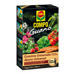 Abono Universal Guano COMPO 1 kg