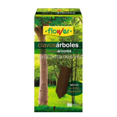 Abono Clavos Árboles Flower 4 u.