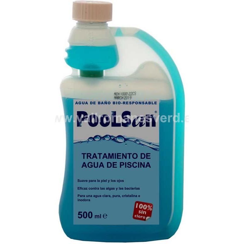 Poolsan libre de cloro tratamiento 500 ml vallromanes for Pqs piscinas y consumo