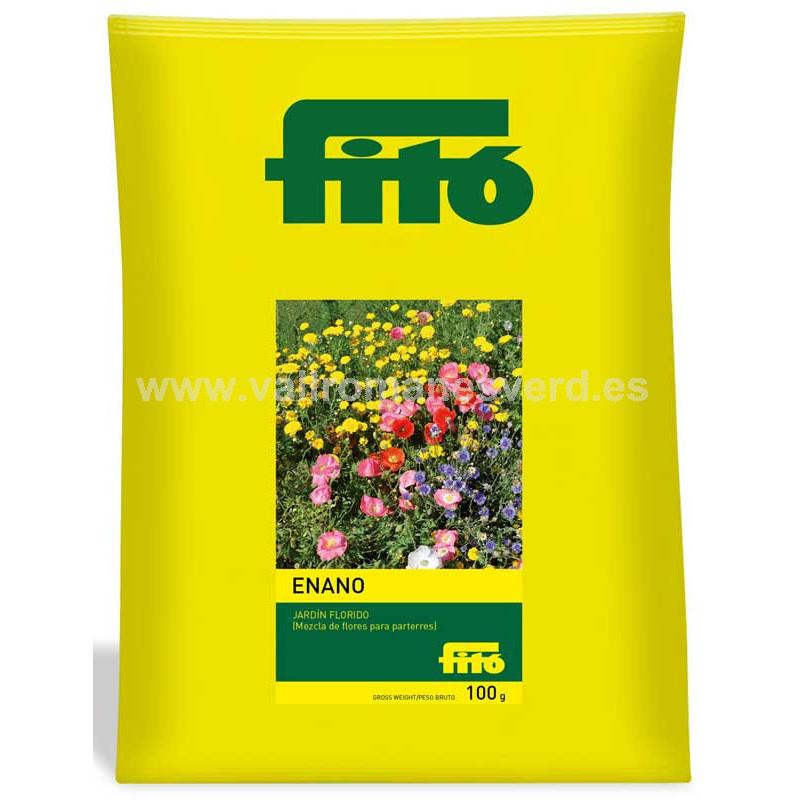 Semilla jard n florido enano 100 g vallromanes verd s l for Pqs piscinas y consumo