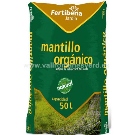 Mantillo org nico fertiberia 50 l vallromanes verd s l for Mantillo o sustrato