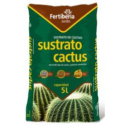 Sustrato Cactus Fertiberia 5 L