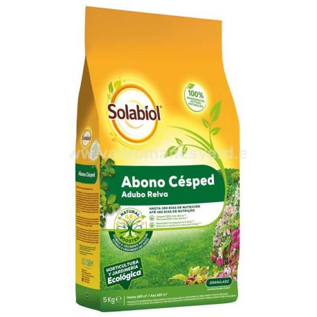 Fertilizante Césped Solabiol 5 kg