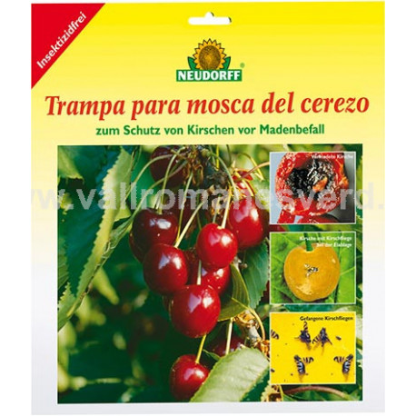 TRAMPA P/MOSCA DEL CEREZO NEUDORFF 7 Uds.