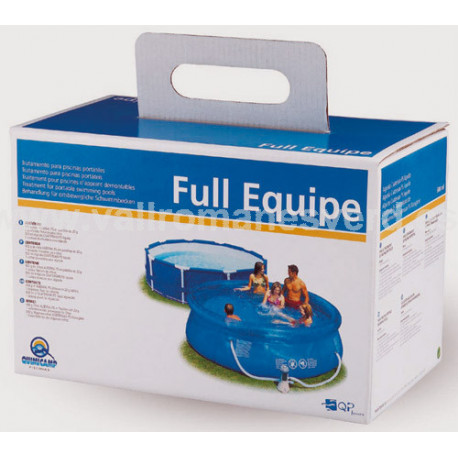 Tratamiento para piscinas portatiles vallromanes verd s l for Piscinas pequenas portatiles