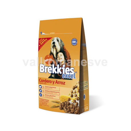 BREKKIES EXCEL LAMB&RICE 20Kg