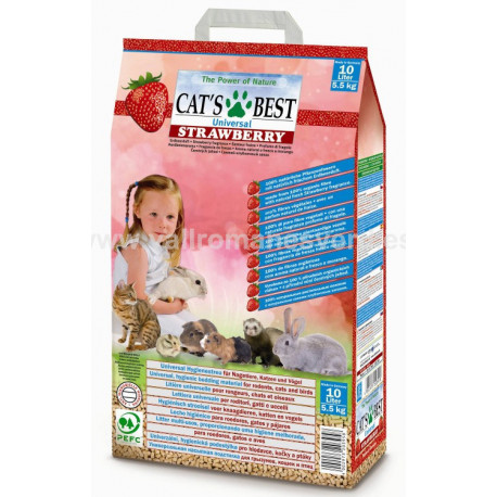 Lecho CAT'S BEST Universal Strawerry 10 L